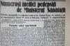 """""""Printre incapabili și nedemni (...) medicul șef al municipiului Arad"""" - scandalurile din sistemul medical românesc n-au termen de expirare..."""