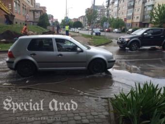 S-a spart magistrala în Micălaca. De ieri după amiază se bea apă cu pipeta