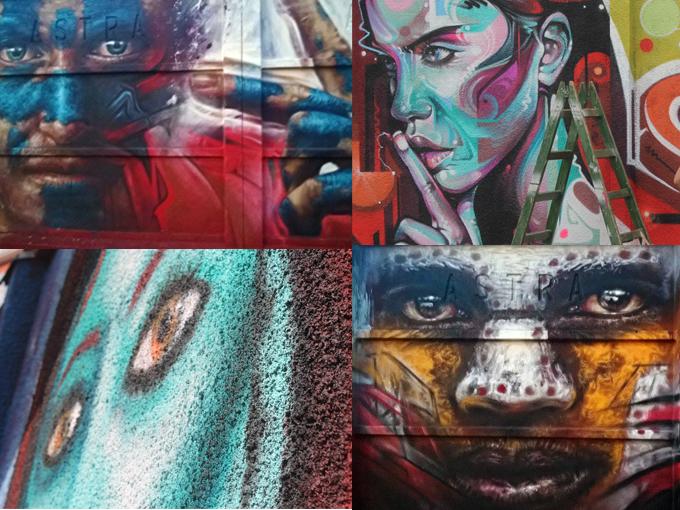 colaj street art arad