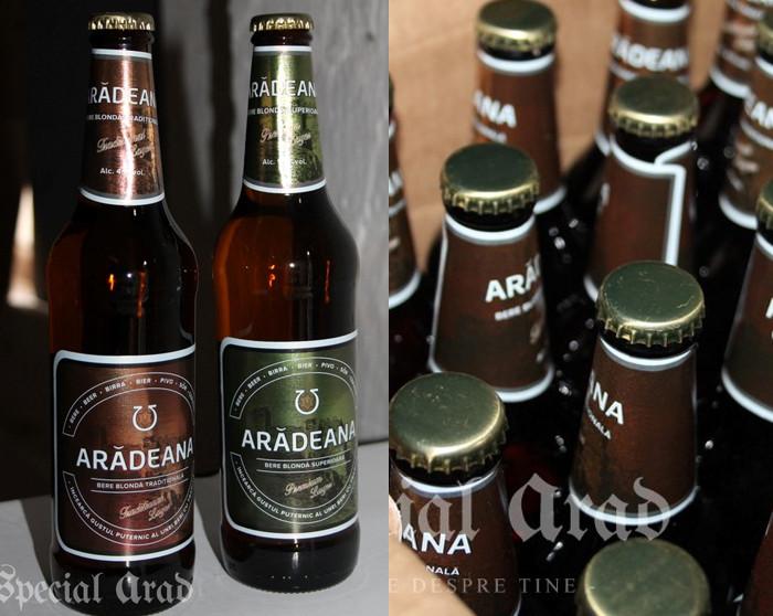 Cele două sortimente de Arădeana, comercializate din 2016