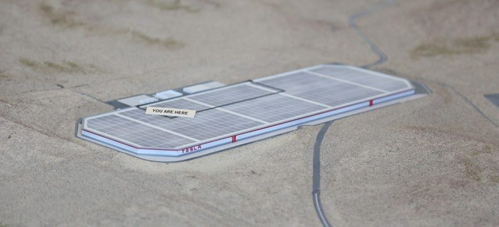 Gigafabrica Tesla din Nevada. Foto: elektrek.co