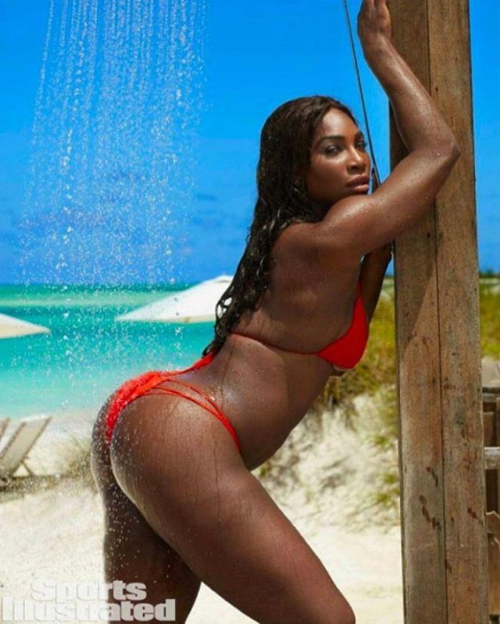 serena williams costum de baie