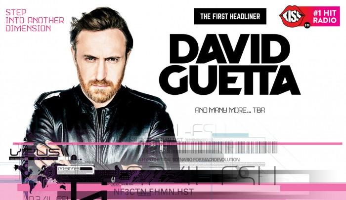 guetta timshift festival headliner