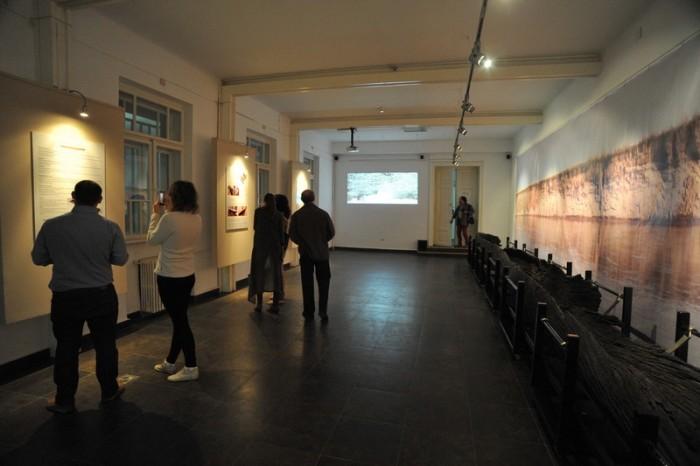 expozitia Odissea unei monoxile_Palatul Cultural