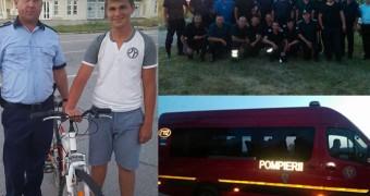 Băiatul de 14 ani de la Școala Penticostală, dispărut azi la Bezdin, a fost găsit în apropierea Vămii Cenad | Video