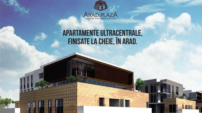 Arad Plaza - construită în Arad la standarde de Viena (P)