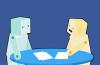 Poate că Bob și Alice, cei doi boți ai Facebook, s-au rușinat la primul lor rendez-vous...