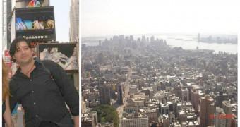 Florian, un arădean... Liber în New York! Au mai rămas trei zile până la momentul său de glorie (FOTO)