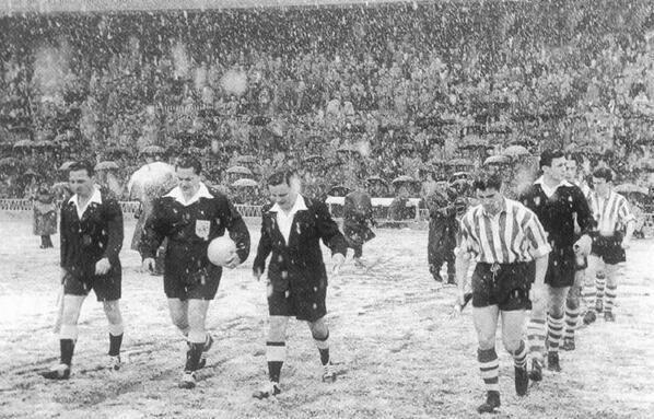 1957 – Athletic Bilbao vs Manchester United