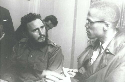 1960 – Fidel Castro şi Malcolm X