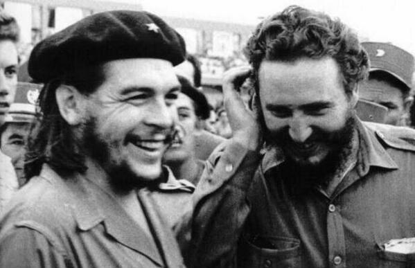 Che Guevara şi Fidel Castro