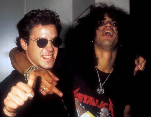 Robert Downey Jr şi Slash