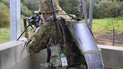 soldati alimentati solar
