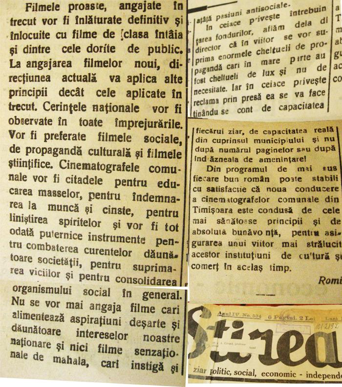 stirea 1933 cinema