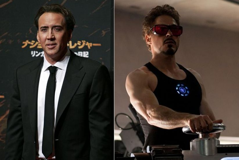 Nic Cage as Iron Man