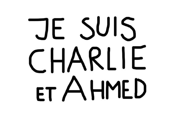 Dan Perjovschi Charlie Hebdo atac terorist Paris (1)