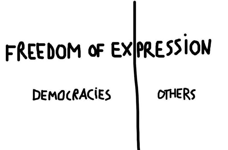 Dan Perjovschi Charlie Hebdo atac terorist Paris (5)