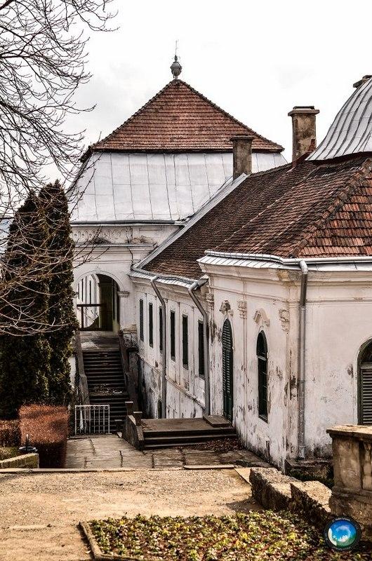 palatul contelui Wesselenyi din Jibou