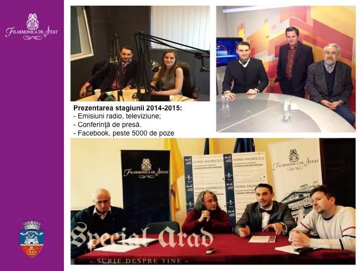 raport activitate filarmonica 2014 16