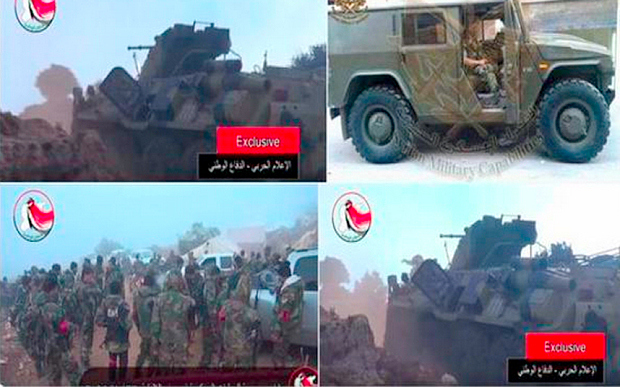 Armata rusă în Siria