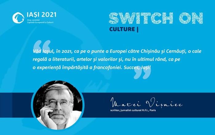 Matei Vișniec susţine Iaşi - Capitală Europeană a Culturii
