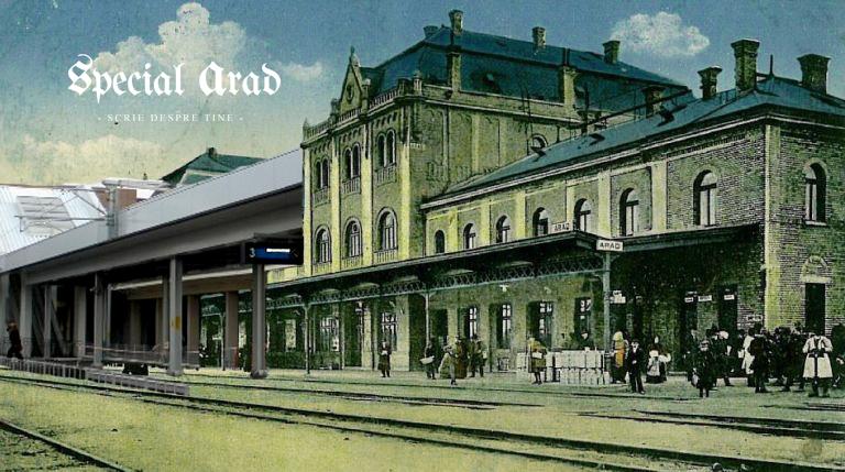 100 de ani intre imagini gara arad 1915 si 2015