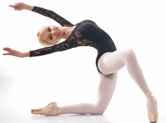 Balerina Roxana Dinu