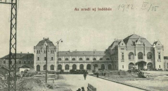 gara arad 1912