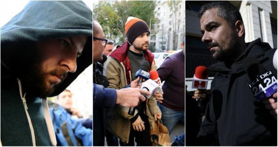 Paul Cătălin Gancea, Alin Anastasescu și Costin Mincu. FOTO: Agerpres