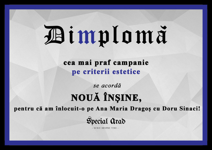 DIMPLOMA CEA MAI PRAF CAMPANIE