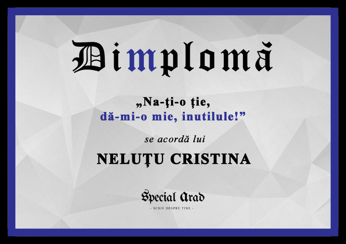 DIMPLOMA nelutu cristina