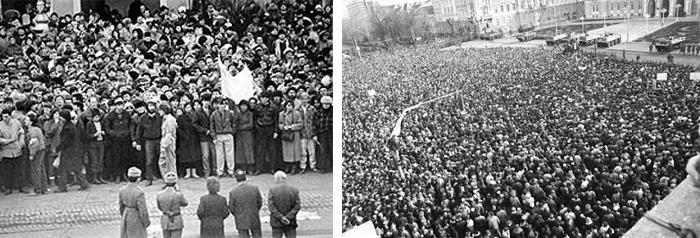 revolutia 89 Arad