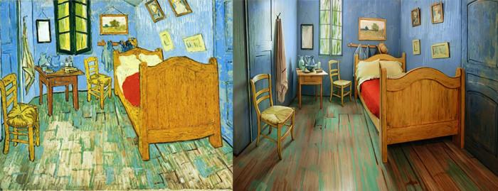 Camera lui Van Gogh din Arles recreat