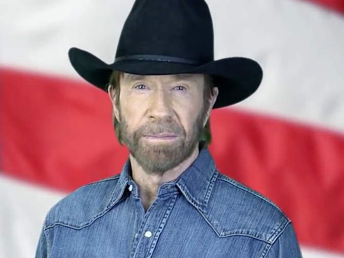 chuck norris i salamul special arad ultimele tiri. Black Bedroom Furniture Sets. Home Design Ideas