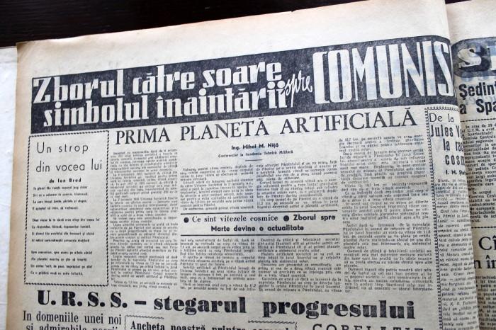 Scînteia Tineretului Racheta Cosmică Sovietică va deveni prima planetă artificială (10)