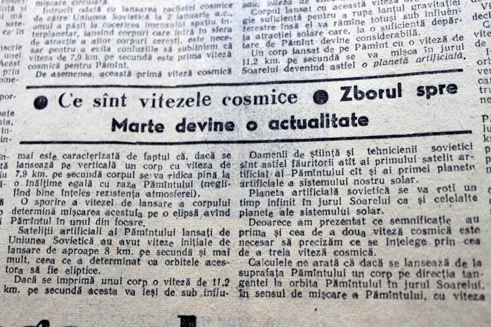 Scînteia Tineretului Racheta Cosmică Sovietică va deveni prima planetă artificială (11)
