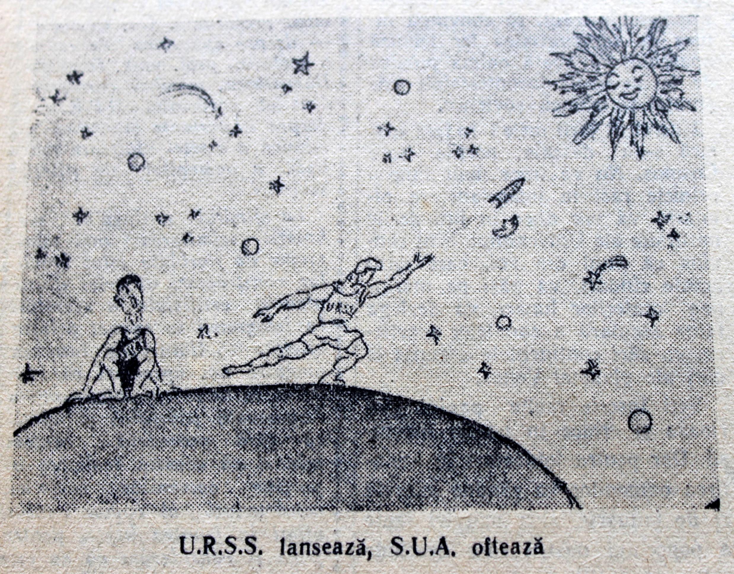 Scînteia Tineretului Racheta Cosmică Sovietică va deveni prima planetă artificială (13)