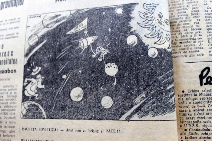 Scînteia Tineretului Racheta Cosmică Sovietică va deveni prima planetă artificială (17)