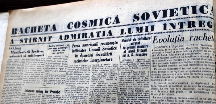 Scînteia Tineretului Racheta Cosmică Sovietică va deveni prima planetă artificială (18)