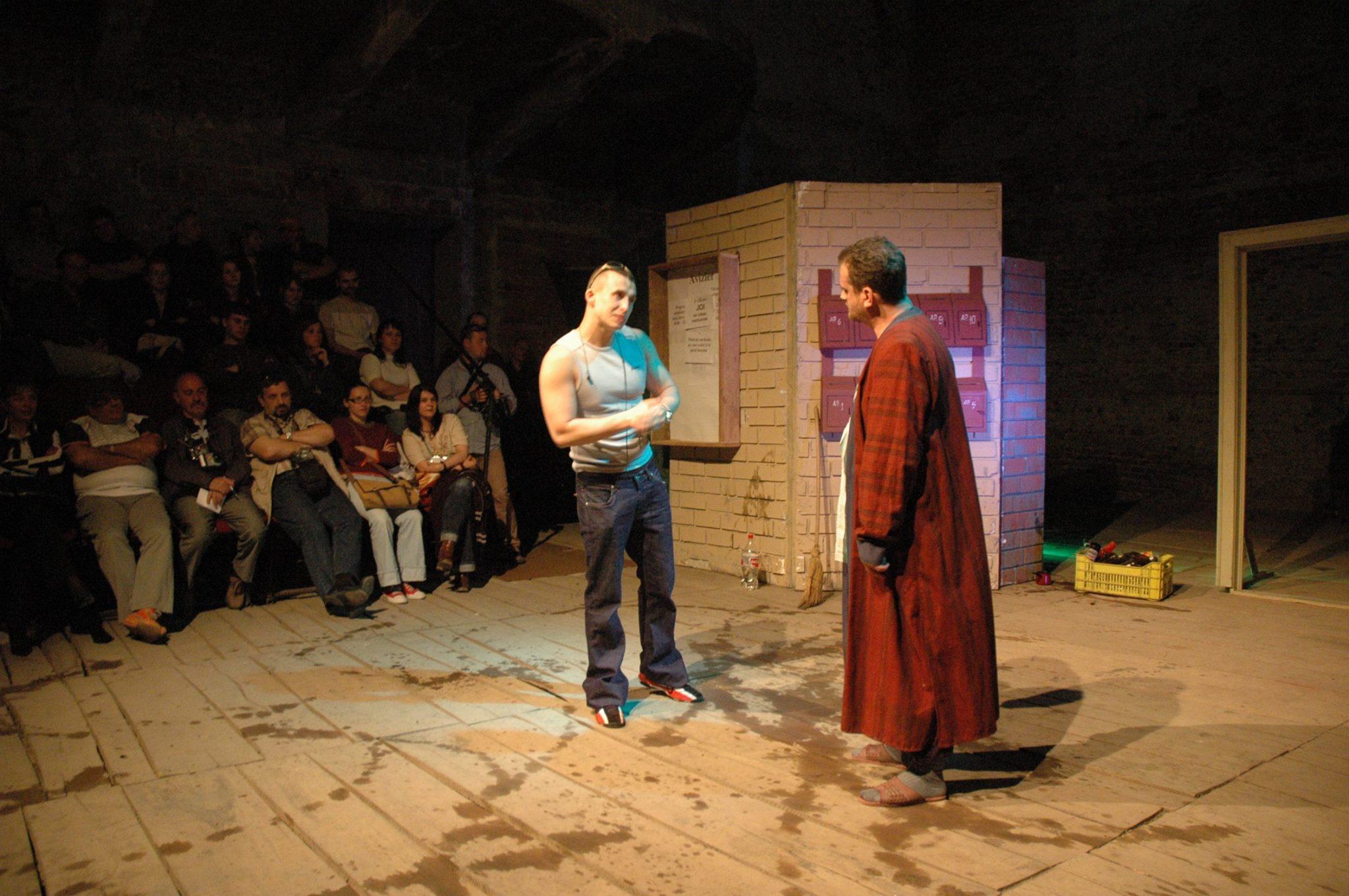 spectacolul Joi cu detinutii de la Penitenciarul de Maxima Siguranta Arad