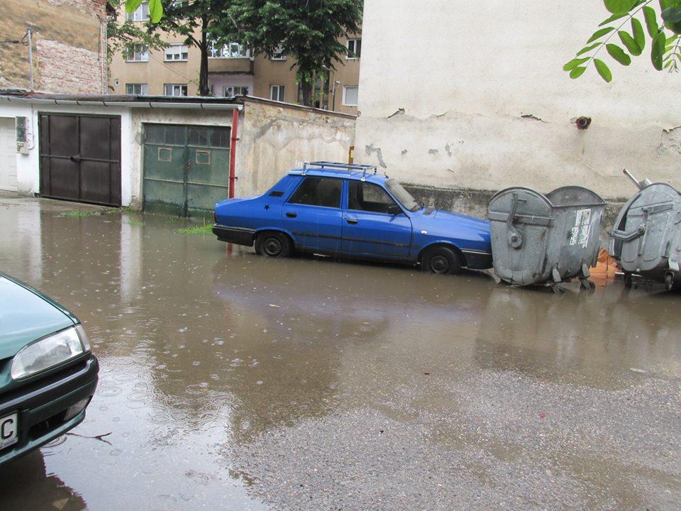 inundatie podgoria