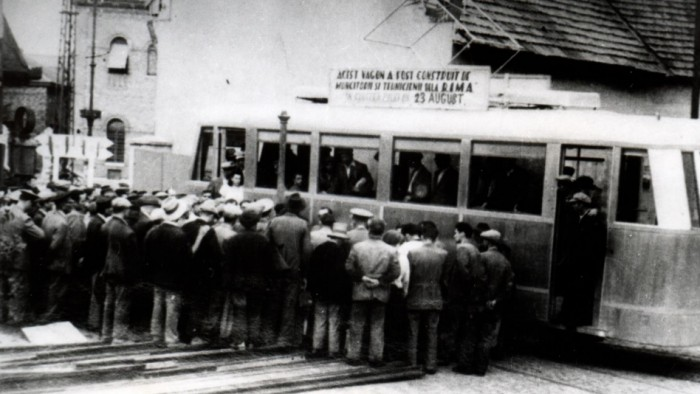 vagon-tramvai-arad-1946