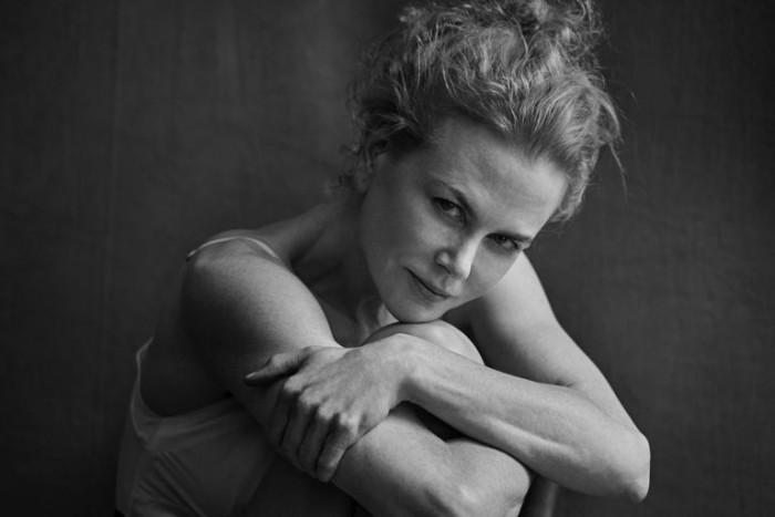 Nicole Kidman, IANUARIE. Foto: PETER LINDBERGH