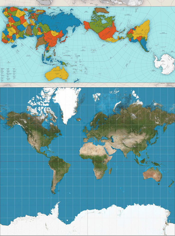 Noua Variantă A Hărții Lumii E Bizară Dar Cea Mai Precisă De Pană