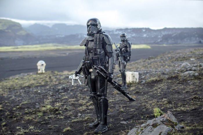 ROGUE ONE: A STAR WARS STORY, death trooper, 2016. Ph: Jonathan Olley /© Walt Disney Studios Motion