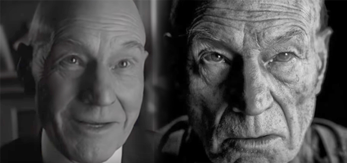 professor X then and now