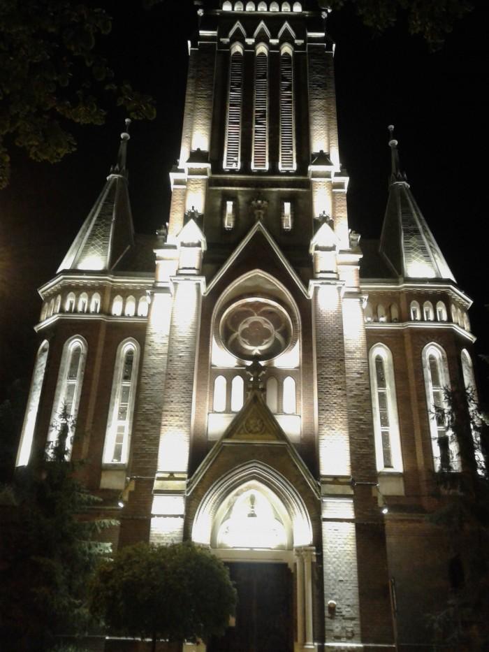 simulare iluminat arh biserica rosie