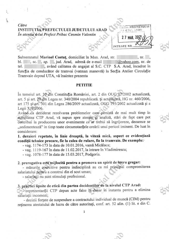 2017.05.09 Petitie Prefectura Arad 1-1