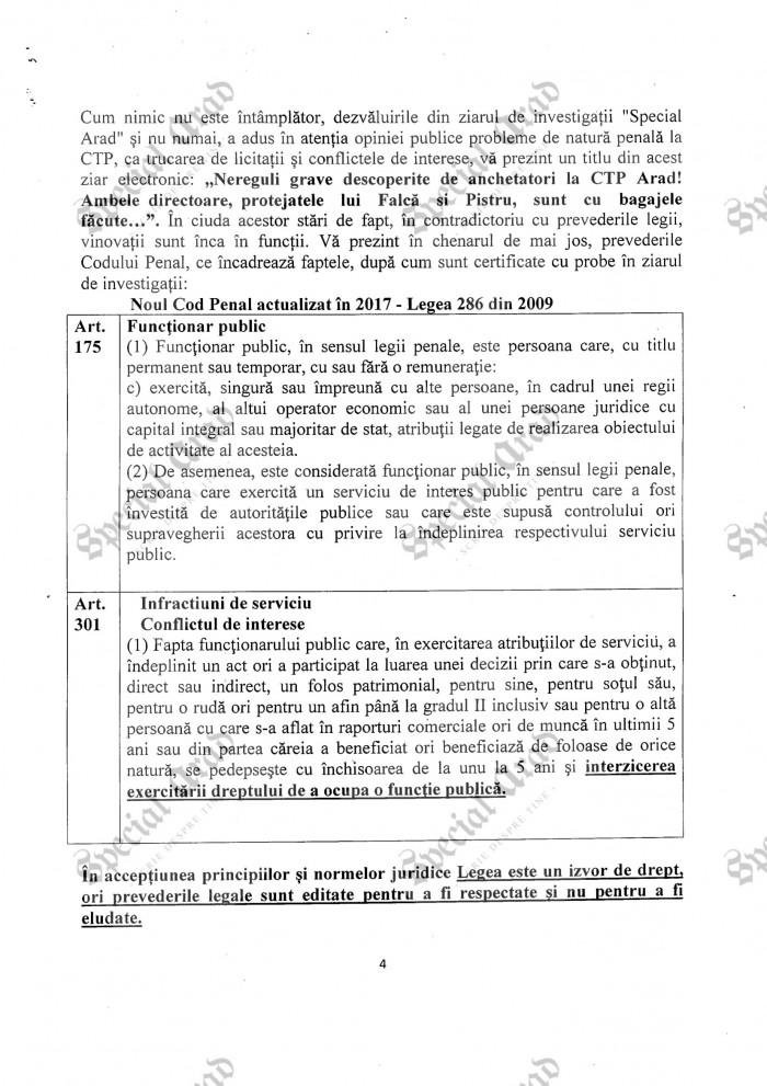 2017.05.09 Petitie Prefectura Arad 4-1