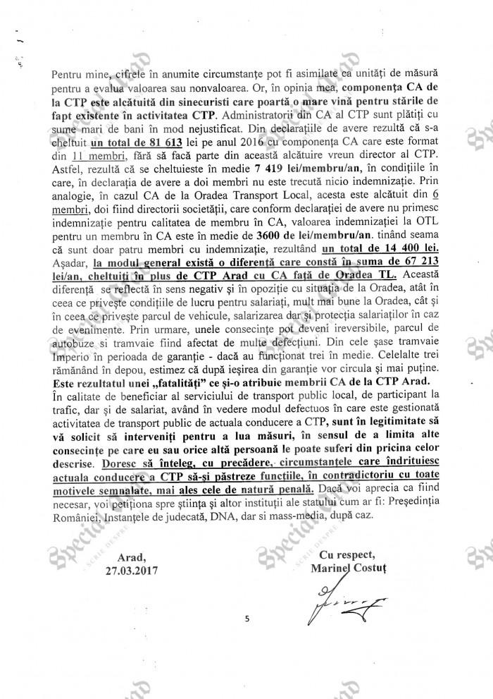 2017.05.09 Petitie Prefectura Arad 5-1
